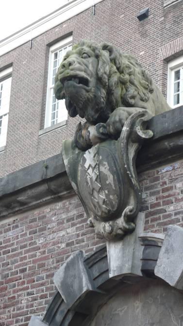 valse leeuw Amsterdam Kerkstraat tegenover 159 (tip Jan Jaap Berkhout)