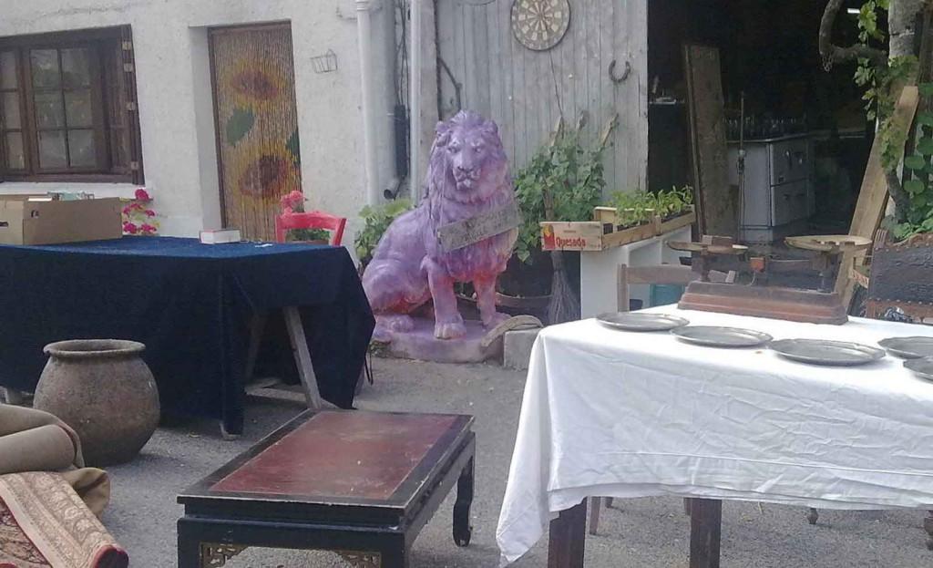 valse leeuw Verteillac Frankrijk (foto Willem van Baarsen) website